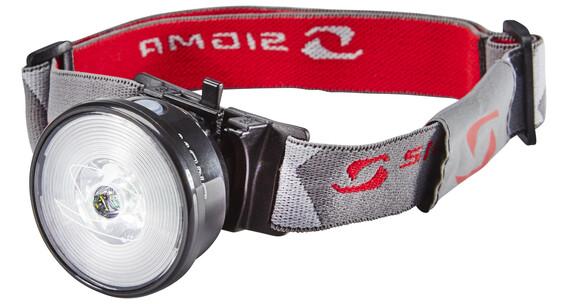 SIGMA SPORT Mono HL Lampada frontale grigio/rosso